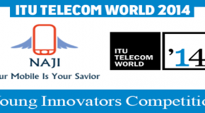 An Iranian Girl Is a Winner of ITU Telecom World 2014